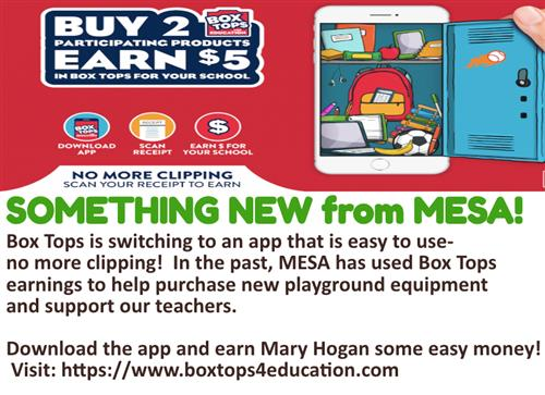 STOP CLIPPING BOX TOPS... get digital!