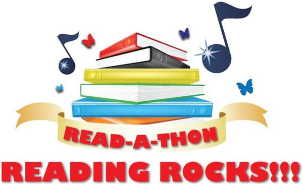 READ-A-THON 2017 ROCKS!  Sponsor a student's reading today!