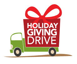 HOLIDAY GIVING DRIVE  -  November 20 to December 15