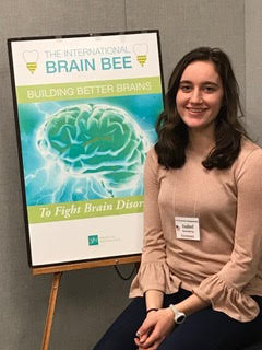 Congratulations to Isabel Rosenberg, winner of the 2018 Vermont Brain Bee!