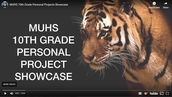 MYP Personal Project Showcase