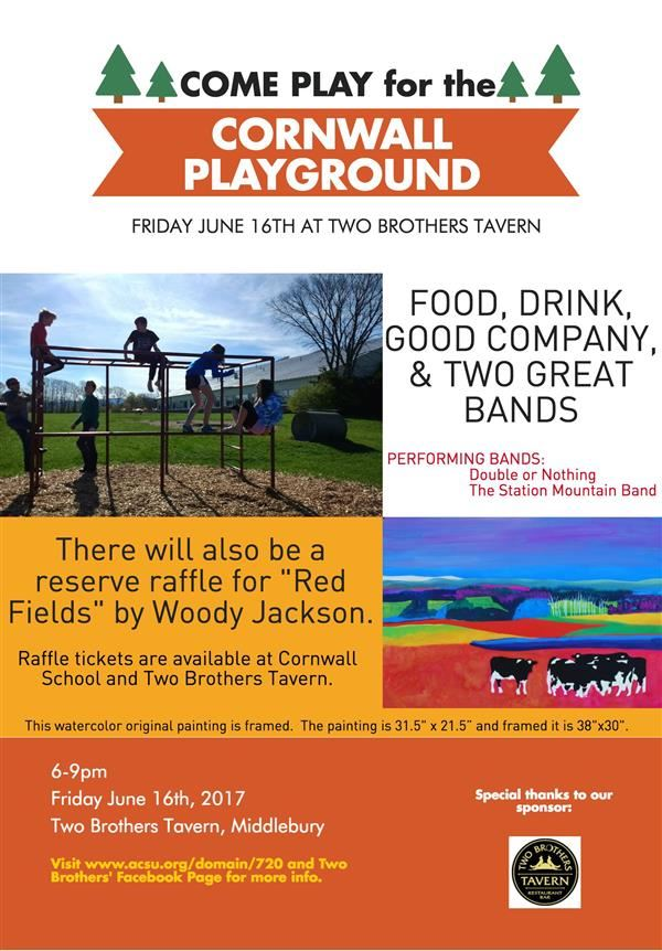 Play for the Playground Flyer