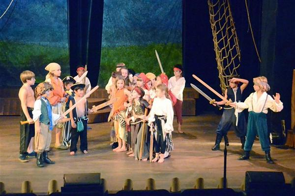 Pirates on Musical Stage